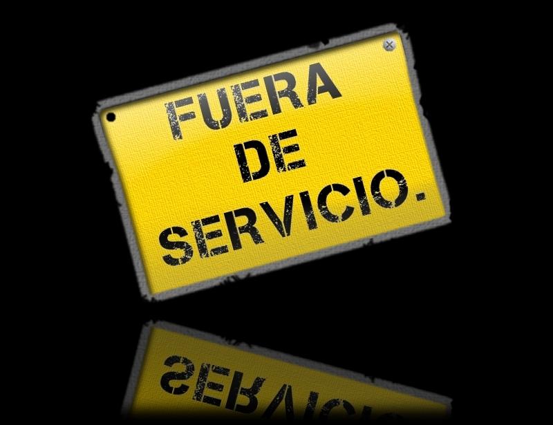 """El tan temido cartel """"Fuera de servicio"""" en los edificios"""
